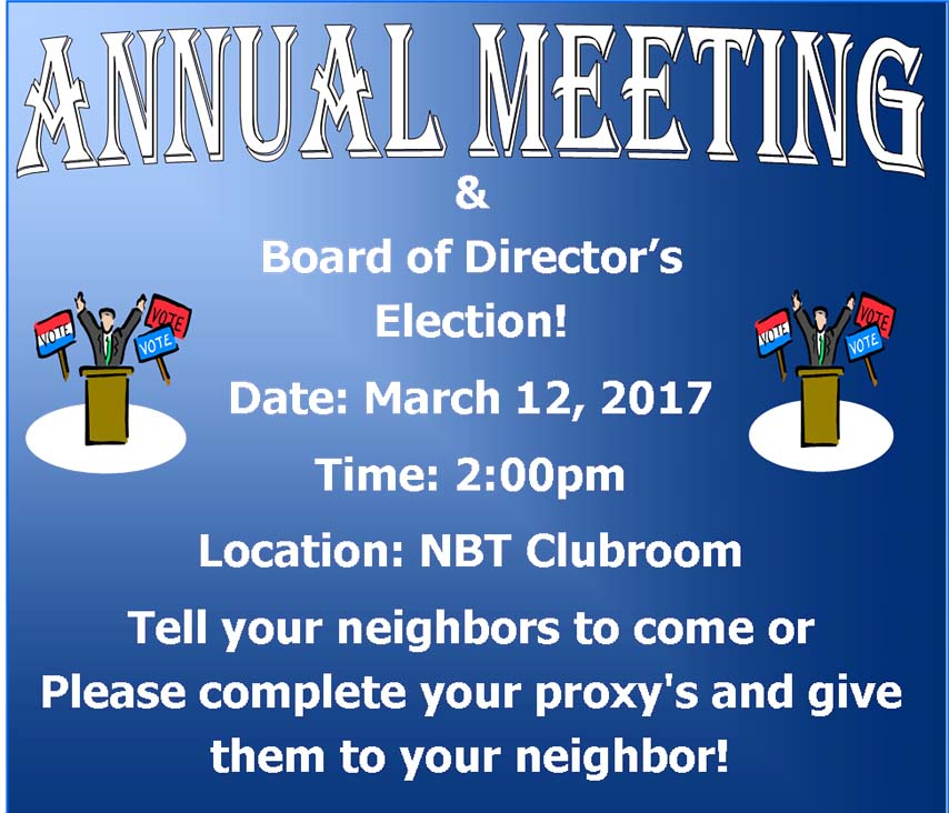 North Brighton Annual Meeting